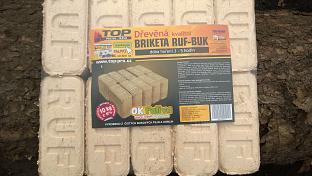 Dřevěná brikety RUF
